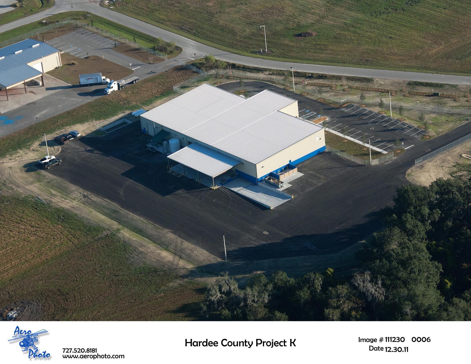 Aerial photo of KeyPlex building