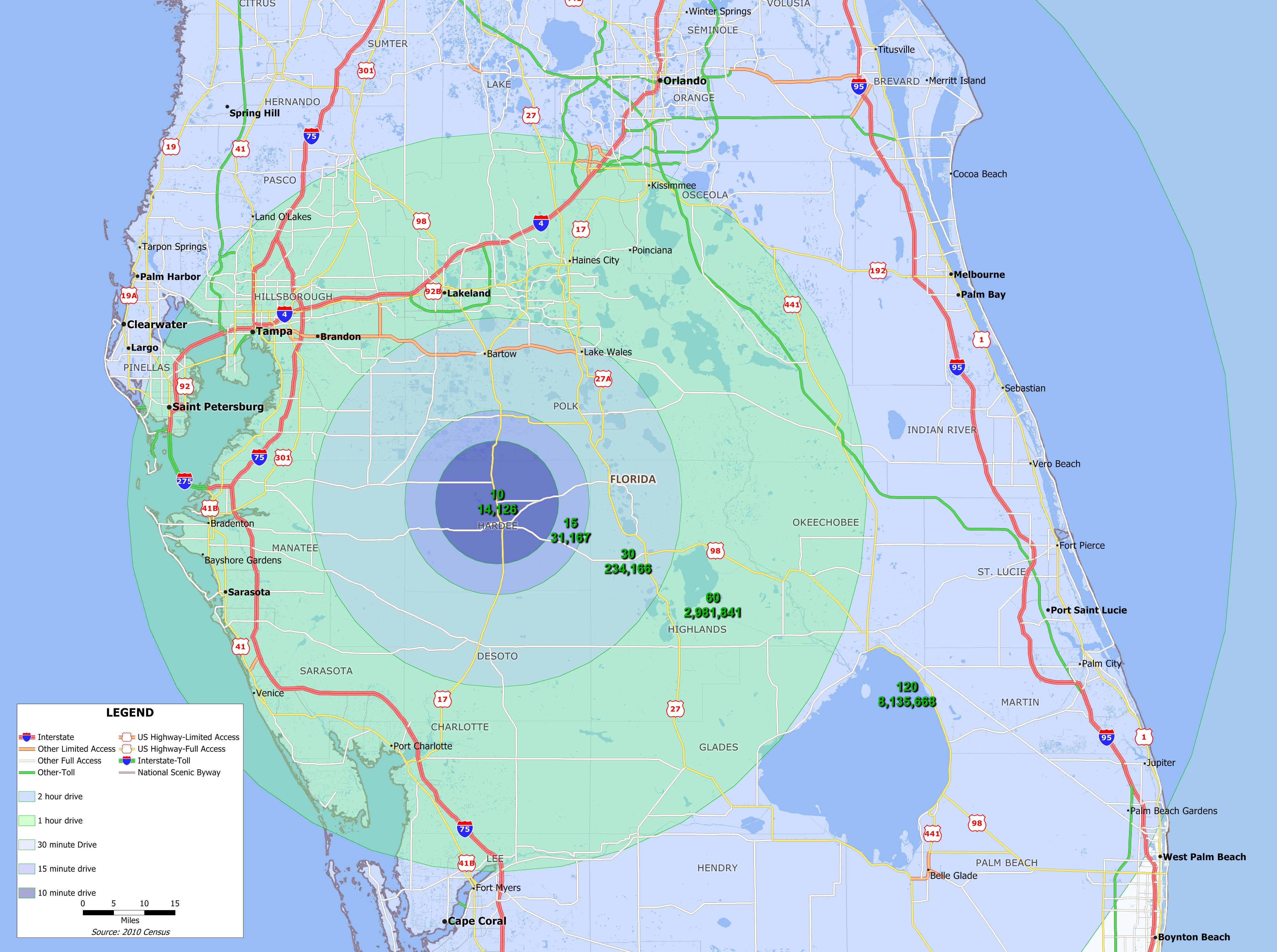 Hardee County Florida Demographics