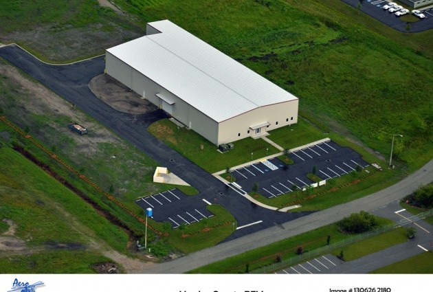 Aerial photo of PFMan building in Hardee County Commerce Park
