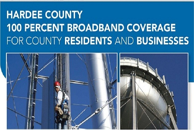 Hardee County. 100% Broadband Coverage for All Residents and Businesses.